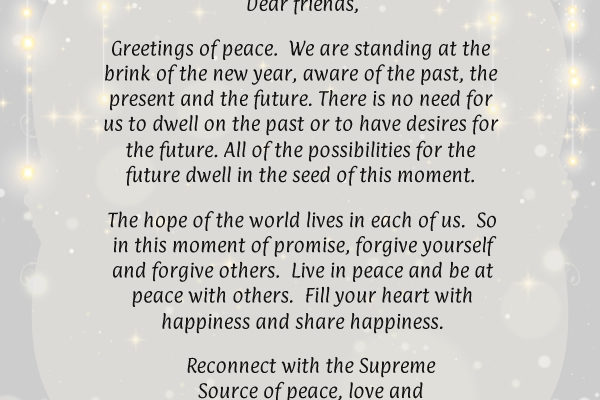 new year message from dadi janki